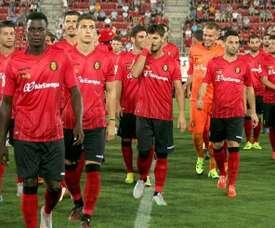 Jugadores del Mallorca. Twitter