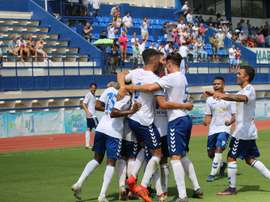 El Marbella se llevó la victoria por la mínima. Marbella