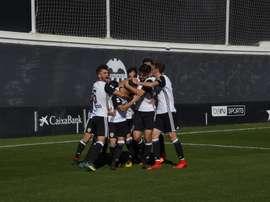 El Valencia Mestalla se impuso al Mallorca. ValenciaCF