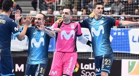 El Movistar Inter ganó al Jaén Paraíso Interior. MovistarInter
