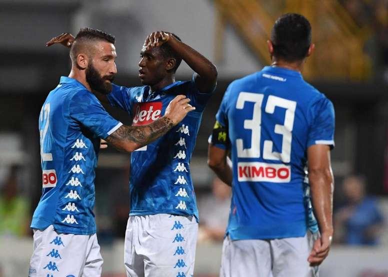 El equipo de Ancelotti sumó su tercera victoria de la pretemporada. Napoli