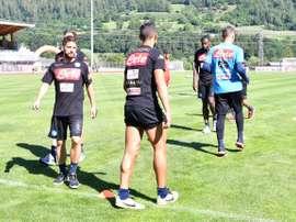 El Nápoles está decidido ha cerrar la contratación del jugador Álex Berenguer. SSNapoli