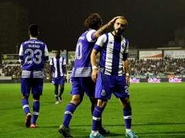 André firmo uno de los dos goles de la victoria que tanto costó al Oporto. Twitter