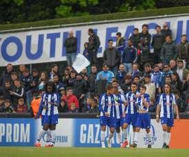 El Oporto que viene. Twitter/UEFAYouthLeague