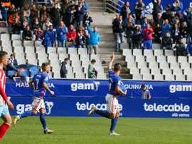 El Oviedo, contra todo pronóstico, se impuso al Lugo. RealOviedo