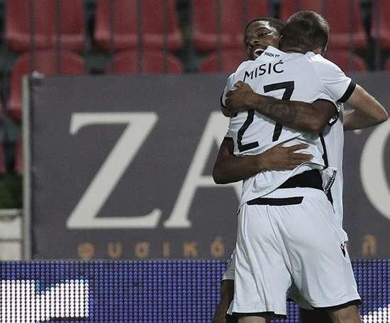 Un trabajado triunfo para agobiar al Olympiacos. PAOK_FC