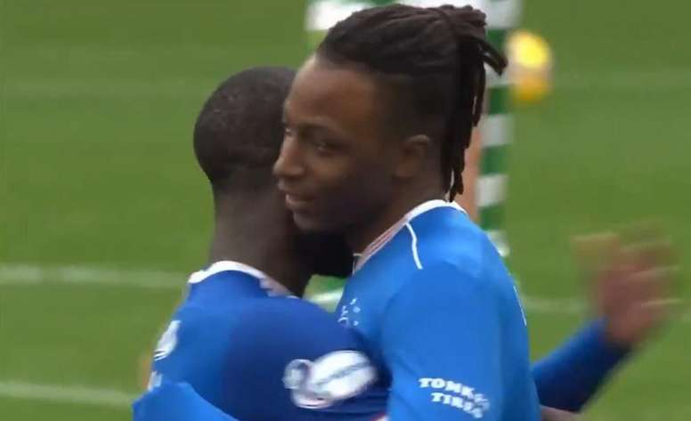 Rangers won the Old Firm. Captura/SkySports
