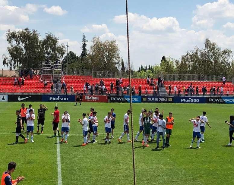 El equipo tuvo que sobreponerse al primer gol visitante. José María Movilla