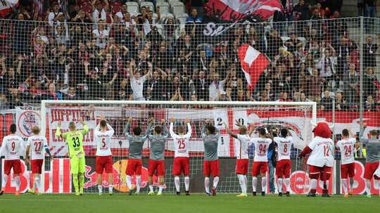 Red Bull Salzburg remain undefeated across all competitions  this season. AFP