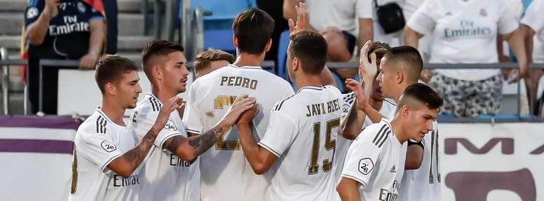 El Madrid se impuso ante el Pontevedra 2-1. RealMadrid