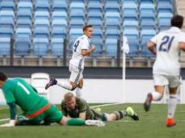 El Real Madrid alcanzó la 'Final Four' a costa del Ajax. RealMadrid