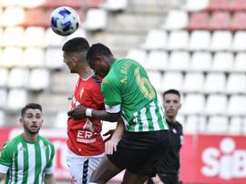 El Betis pasa por delante del Real Murcia. RealMurciaCFSAD
