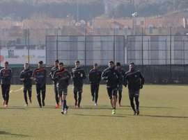 Marcelo Silva es seria duda para el Valladolid-Llagostera. RealValladolidCF