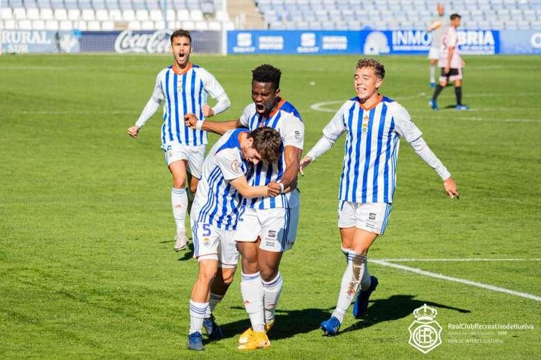 Huelva, cuna del fútbol en España. Twitter/recreoficial