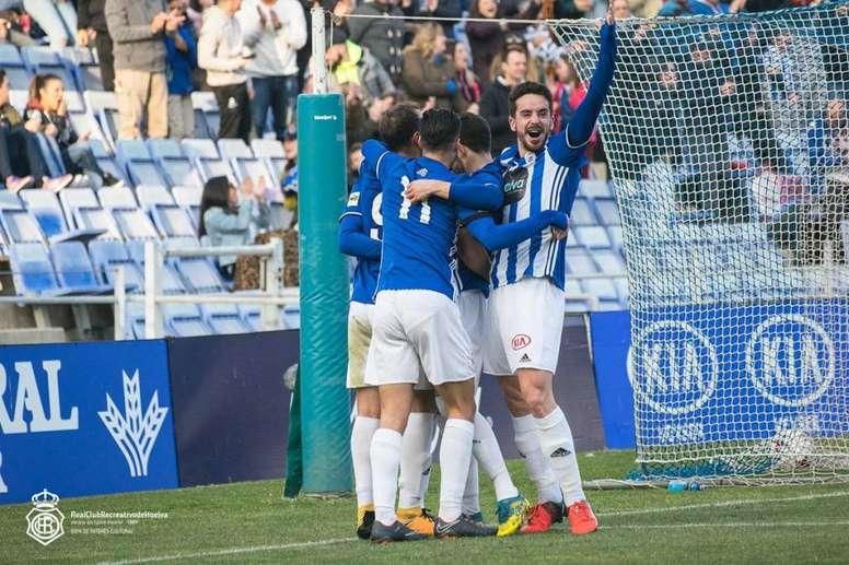 Gorka Santamaría firmó la victoria. Twitter/RecreOficial
