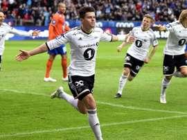 El Rosenborg acaba de lograr su segundo doblete consecutivo y lo celebró de forma muy original. RBK