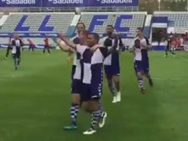 Un gol de Felipe Sanchón fue suficiente para fulminar al líder. Captura