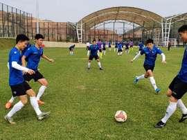 Le championnat sud-coréen va réouvrir ses portes. Sangju Sangmu