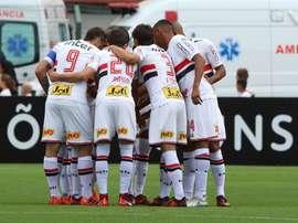 Equipe paulista soma 6 pontos no Brasileirão. Twitter/São Paulo