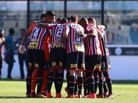 São Paulo e Atlético-MG empataram em 2-2. Twitter