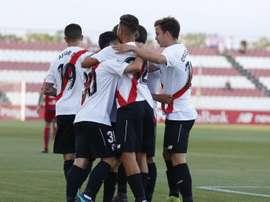 El Sevilla Atlético derrotó al San Roque de Lepe. SevillaAt
