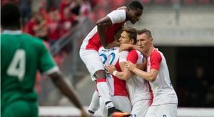 El Slavia se proclama campeón de la Copa Checa. SlaviadePraga