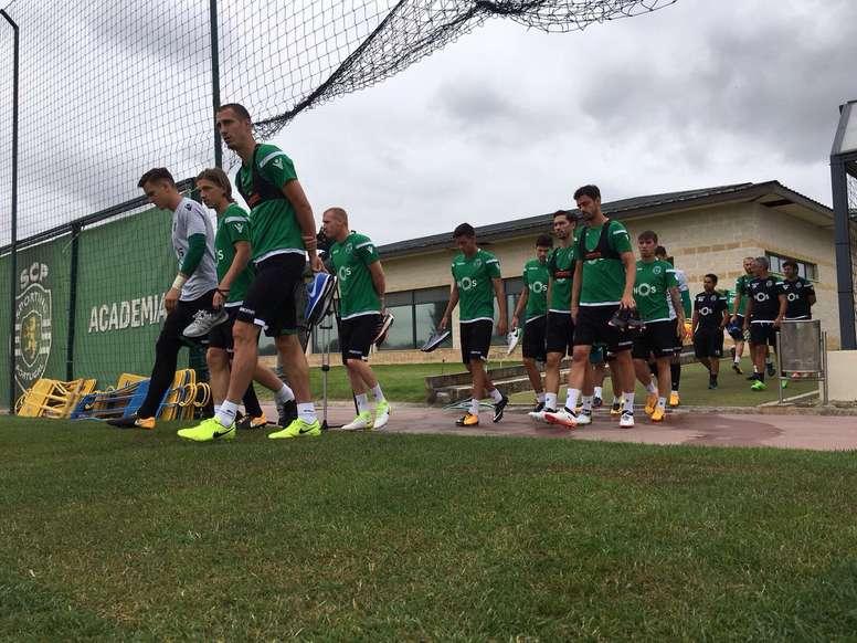 El Sporting de Lisboa no contará esta temporada con Fábio Martins. Sporting_CP