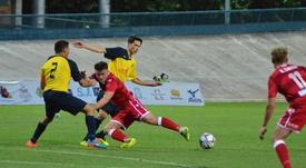 El Tre Fiori se impuso al Bala Town. Twitter/BalaTownFC