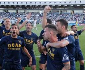 El UCAM Murcia fue muy superior a su rival. UCAMDeportes