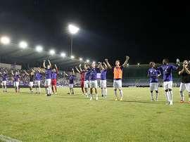 El Ujpest ganó en la vuelta de la primera ronda por 4-0. Újpest