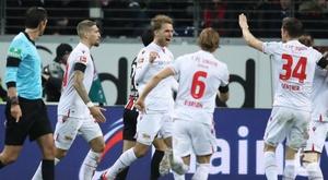 El Union Berlin dio un golpe en Frankfurt. Bundesliga