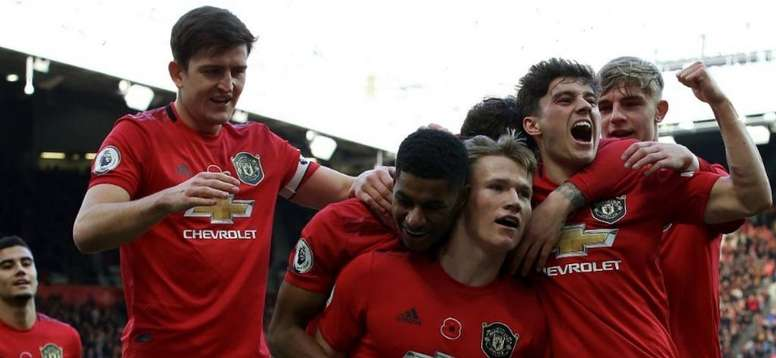 United won 3-1. Twitter/ManUtd