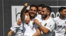 El Valencia Mestalla espera sumar tres puntos ante el Villarreal B. ValenciaCF