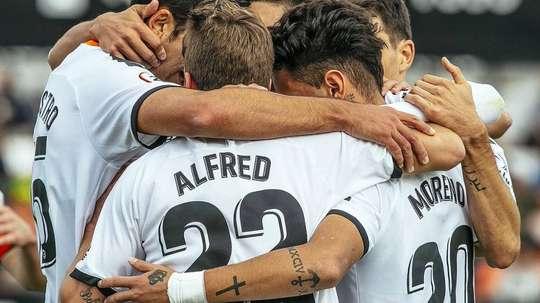 El Valencia Mestalla no puede permitirse más fallos. Twitter/Academia_VCF