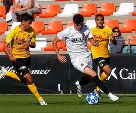 El Valencia se cae en la Youth League. ValenciaCF