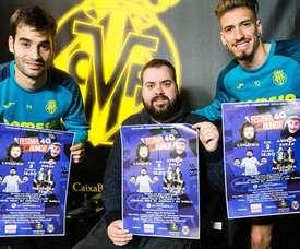El Villarreal dará apoyo económico a la asociación 'Conquistando Escalones'. Twitter/VillarrealCF