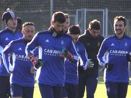 Marcelo Silva se muestra crítico con el papel del equipo. RealZaragoza