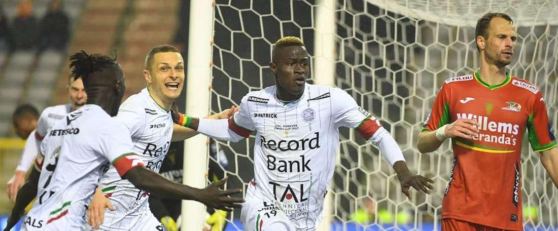 El Zulte se llevó el partido en la tanda de penaltis. ZulteWaregem