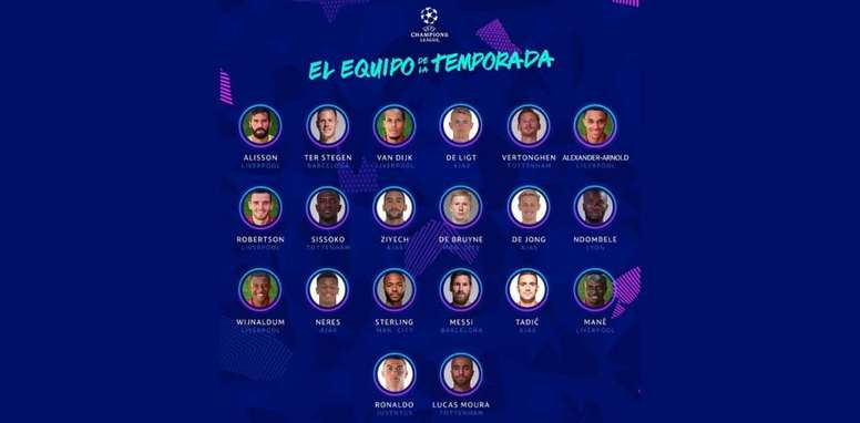 UEFA have released their CL team of the season. LigaDeCampeones