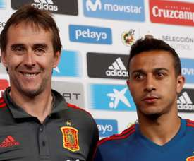 Teria sido mais normal chegar à final da Copa do Mundo com o Lopetegui, disse Thiago. EFE