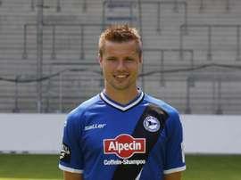 Julian Börner vivió un peculiar partido ante el Greuther Fürth. Arminia Bielefeld