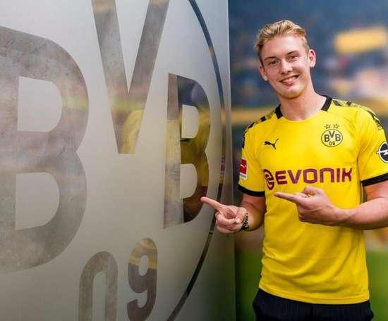 Borussia Dortmund contrata Brandt. BVB