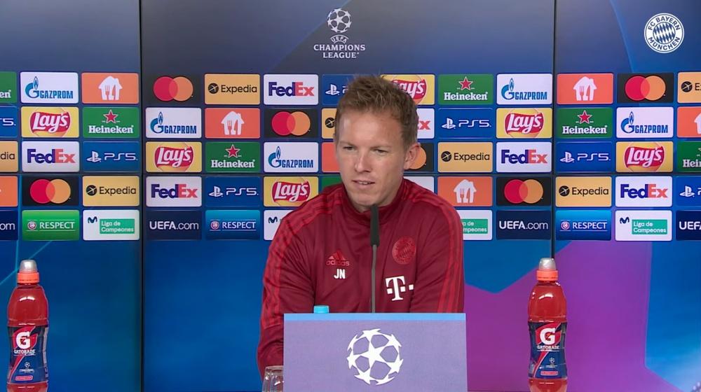 Nagelsmann falou sobre o Barça de Koeman. Captura/FCBayern