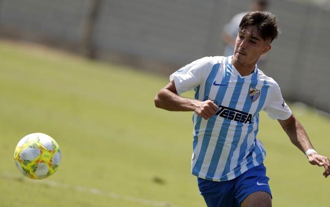Julio marcó en el 90'. MálagaCF
