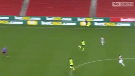 Bacuna's own goal was something very special indeed. Screenshot