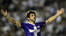 Juninho, leyenda del Lyon. EFE/Archivo