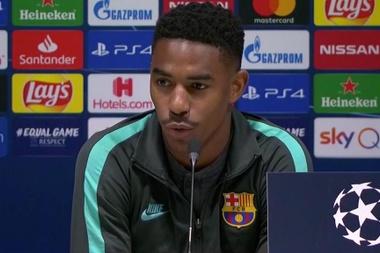 Junior parle de Messi. Captura/BarçaTV