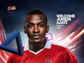 Junior Ajayi se convierte en nuevo jugador del Al Ahly. AlAhlySC