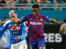 Inter open to adding Junior Firpo in transfer for Lautaro. AFP