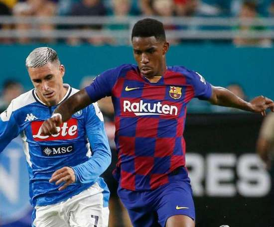 A learning curve for Junior FIrpo. AFP